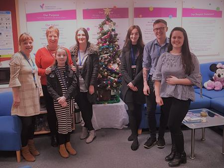 Central Office getting in the Christmas spirit!